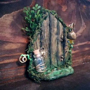 Heart Lock Fairy Door